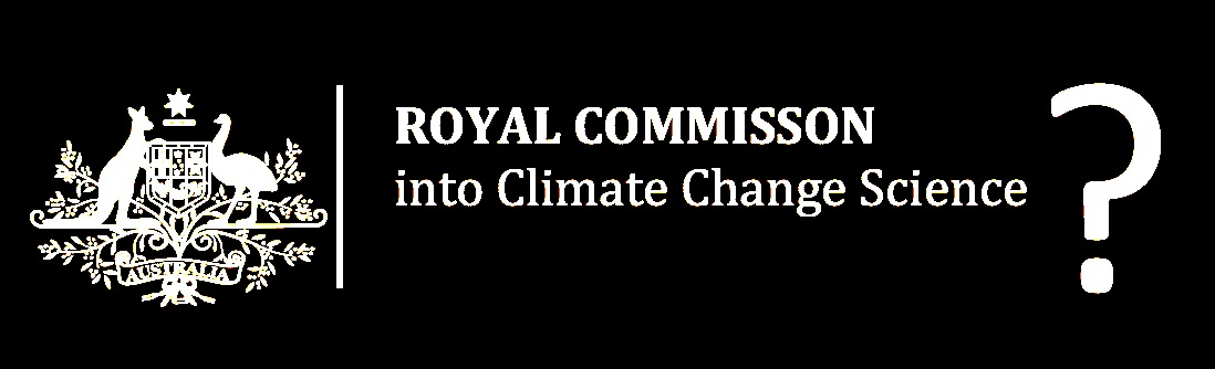 Should we welcome a Royal Commission into climate science?